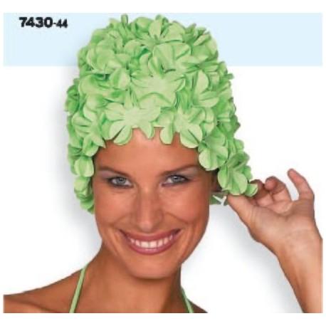 Bonnet de bain à fleurs pour Dames
